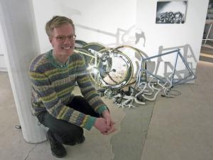 Lars Brink med utställningen