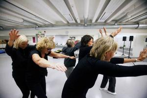 Sträcka uuut kan man göra också i dans och rytmik.