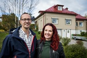 2004 köpte Veronika och Tobias Eriksson villan i Bydalen. De har renoverat och byggt ut huset i omgångar.