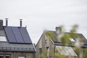 Enligt Bixia nås jorden årligen av 10000 gånger mer solenergi än mänsklighetens totala förbrukning av fossilabränslen. Foto: Tore Meek / TT