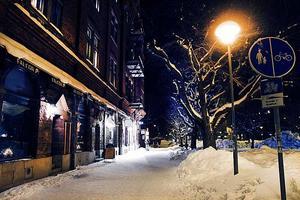 Islandsplan på Brynäs var kall och snötäckt 2010...