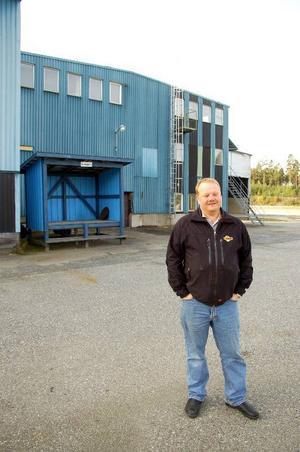Svante Westin har köpt Backe Trä. Nästa år räknar han med att bolaget Fjällsjö Bioenergi ska omsätta 30 miljoner kronor. Foto: Jonas Ottosson