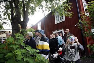 Gabriel Nordqvist fick vara hemma på Rektorsgården, där han bor, en stund när han följde med mamma och pappa på stadsvandring.