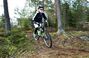 Möjligheter till cykling finns på flera håll i området.