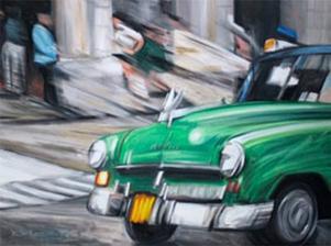 Målning av Dieter Kunz.