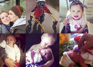 När Marielle Grääs och Christian Bylund fick sin efterlängtade dotter och Julian fick bli storebror uppstod komplikationer. Syrebrist, kramper och hjärnblödning gav Minea CP-diplegi och hon kan inte gå utan rullator.