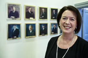 Susanne Norberg (S) gläds över det kommunala resultatet på plus 116 miljoner kronor.