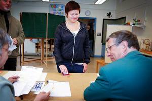 Simone From fyller 18 år samma dag som EU-valet. Hon utnyttjade sin medborgerliga rättighet och röstade.