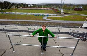 """""""Kanske kan de fem världscupspremiärerna också göra att fler gör som Helena Jonsson, som på hemmaplan kan tävla, träna, bo och studera"""", säger AnnSofie Andersson, s."""