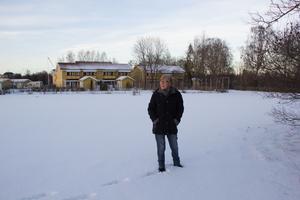 Margareta Sandberg har skrivit ett förlag till Avesta kommun där hon önskar sig små envåningshus för äldre på tomten mellan Brinkbacken och Vintervägen i Krylbo.