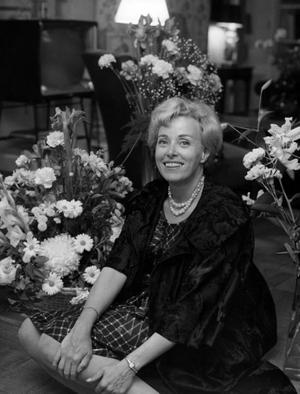 En skribent som Marianne Höök finns inte i dag, skriver Curt Bladh. Bilden är tagen 1961.