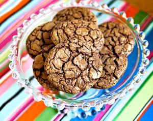 Chokladälskarnas drömkaka. Gör dem i den storlek du tycker passar bäst.