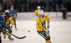 Jonas Pettersson gjorde fyra av sju mål mot Katrineholm.