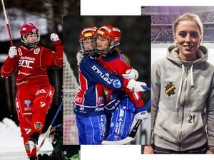Malin Persson, Camilla Johansson eller Hanna Brusberg – vem av VM-hjältarna blir Årets spelare?