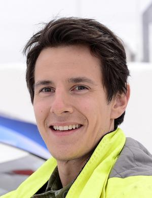 Daniel Petrovic, projektledare på Sundsvall elnät.