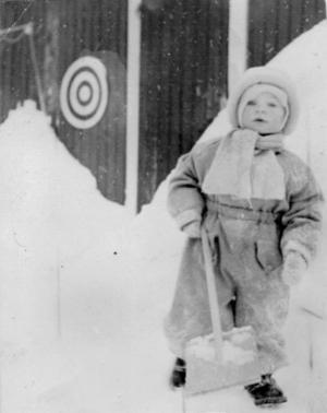 Jularna var vita och traditionella i Trönö.