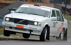"""Erik """"Budda"""" Wigren tog en ny seger när Svenska Rallycupen fortsatte med Kullingstrofén i Herrljunga."""
