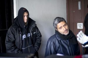 Joel Kinnaman och regissören Babak Najafi. Inspelningen har pågått sedan augusti. I slutet av nästa sommar har filmen premiär.