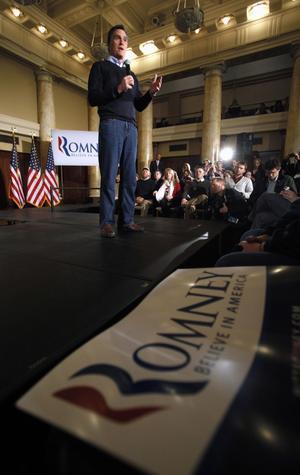Slitstark. Mitt Romney vann nomineringsmötena i Iowa knappt och är favorit till att bli Republikanernas presidentkandiat i höst. Han arbetar envetet, men har än så länge haft svårt att vinna nya anhängare.foto: scanpix