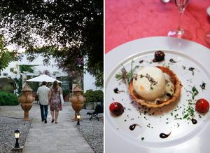 Biniarroca på Menorca är ett perfekt val för en romantisk semester. Här finns även en gourmetrestaurang.