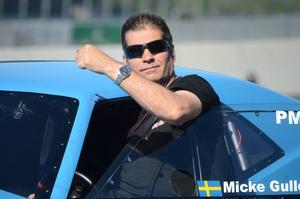 Michael Gullqvist, Hässelby, kör 5,8-tider i Pro modkvalet.