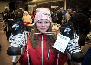 Elvaåriga Hanna Björklund hittade ett par nästan nya CCM-skridskor i  storlek 37 för 150 d85f92207570b