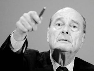 Chirac är en av dem som sätter käppar i hjulet för EU-samarbetet.