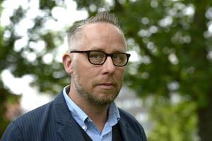 Po Tidholm, bor i Trönö och är författare och journalist. Foto: Janerik Henriksson /TT /Arkivbild