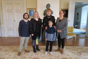 Representanterna för Transammans tillsammans med landshövdingen. Foto: Länsstyrelsen