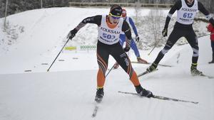 Hugo Jacobsson i Falun Borlänge-dressen under tiden som junior.