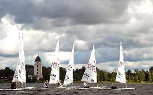 Inte sedan 1980-talet har en så stor regatta arrangerats på Siljan. Foto: Katarina Cham