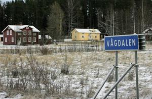 Under 1920-talet bodde omkring 250 personer i Vågdalen. Nu finns här bara ett 35-tal bofasta.FOTO: BENGTERIC GERHARDSSON