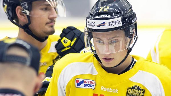 Linus Svedlund lämnade tidigt Arboga för VIK Hockey. Nästa säsong spelar båda klubbarna i Hockeyettan.