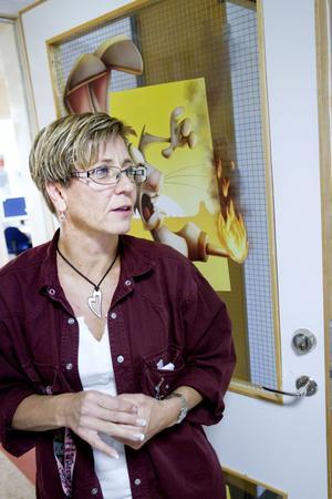 Anna Sving Sjöblom vet aldrig hur en arbetsdag ser ut när hon kommer på morgonen.