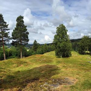Medelpads största gravfält i Korsta med fynd från 200-talet efter Kristus. I framtiden omgärdad av industrimark eller en turistattraktion? undrar Nils Johan Tjärnlund.
