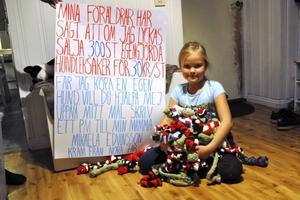 I oktober uppmärksammade DT sjuråriga Nora Edvinsson från Långshyttan, som