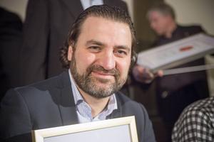 Rafi Markarian, året mest företagsamma människa i Gävleborg.