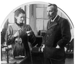 Marie och Pierre Curie - svåra att gå förbi när man talar vetenskapshistoria.