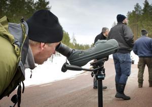 Mats Axbrink har varit ute och räknat fågelarter på nyårsdagen i tjugo år.