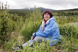 I drygt ett år har Ruth Magnusson från Bakvattnet kämpat emot de planerade vindkraftverken på Ansätten.