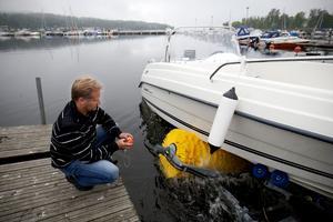 kommunen är nu beredd att köpas den enda båttvätten norr om Stockholm som finns i Härnösand för 400000 kronor.