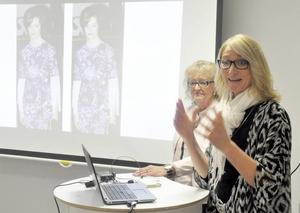 Camilla Werme och hennes mamma Monika Eriksson driver modebutik tillsammans.