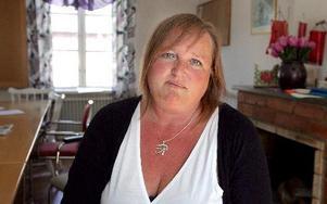 Ann-Ci Steneryd är sektionsordförande för Kommunal i Södra Dalarna.  FOTO: MIKAEL ERIKSSON