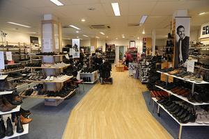 För något årtionde sedan fanns fyra renodlade skobutiker i Kramfors kommun, snart ingen.