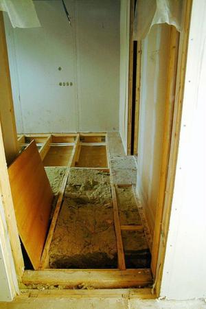 Stora saneringsåtgärder gjordes 2008. Totalt berördes 77 av de 112 rummen.