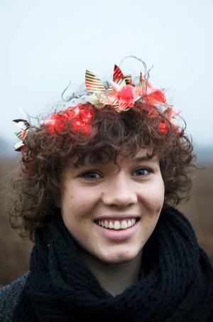 2009 års Lucia: Amanda Bergman.
