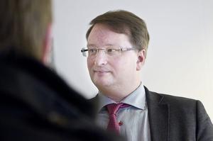 Riksdagsledamoten Lars Beckman (M) var moderator.