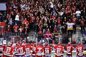 Hockey ska vara en fest, tycker insändarskribenten.