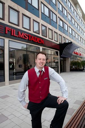 Michael Hellberg biografchef för Filmstaden.