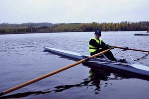 Anton Engström är redo för ett träningspass.